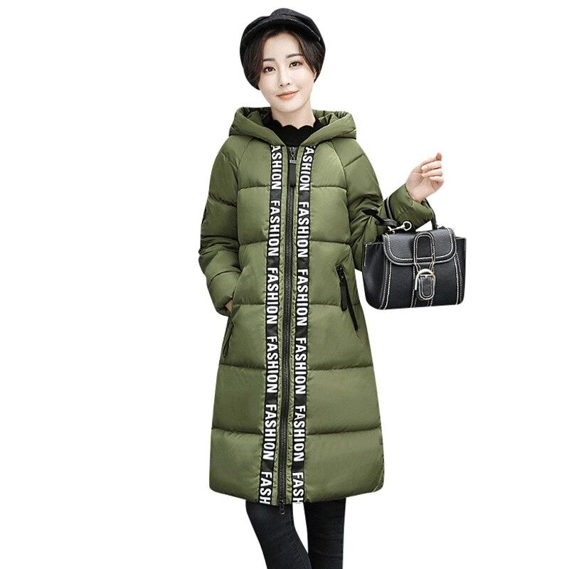 2017 Autumn Winter Womens Coat Fashionable New Han Edition Cultivate Ones Even Cap Warm Medium Long Jacket Temperament CoatÎäåæäà è àêñåññóàðû<br><br>