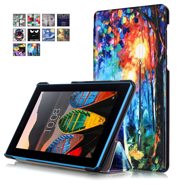 Magnetic Stand pu leather Case For Lenovo Tab 3 7 730 730F 730M 730X TB3-730F TB3-730M 7 tablet cover cases + Screen Protector <br><br>Aliexpress
