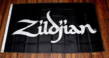 New Zildjian Flag Music Store Advertising Banner Sign Drums Cymbals Percussion Indoor Outdoor Flag 3' x 5' Custom Flag