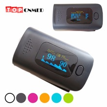 Colorful Wear-proof Alarm Setting Oximeter SPO2 PR Fingertip Pulse Oximeter Blood Oxygen SpO2 6 color available(China)