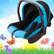Baby cradle basket multifunction safety seat Baby car child safety seat newborn baby car cradle portable car(China)