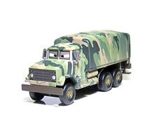 Pixar Cars Diecast Andy Gearsdale Military Truck Toy Car