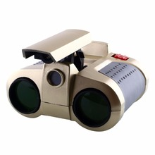TURE ADVENTURE 1 Pcs New Arrival 4x30mm Night Vision Viewer Surveillance Spy Scope Binoculars Pop-up Light Tool(China)