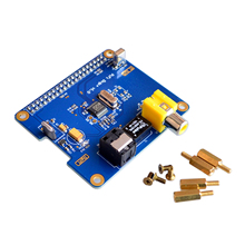 Raspberry Pi HIFI DiGi Digital Sound Card I2S SPDIF expansion board Digital Chip for Raspberry Pi 2/B+/A+ support Raspberry pi 3