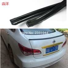 Free shipping top racing  Style Automotive Spoiler can be use for roof / hatch gate/ trunk / bonnet FIT for TO YOTA Nissan 1.5M