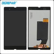 "5"" inch Black For Sony Xperia Z L36h L36i C6606 C6603 C6602 C660x c6601 LCD Display Touch Screen Digitizer Assembly Replacement"