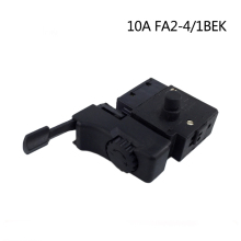 Electric hammer Drill Speed Control Switch with forward and reversal for 10A FA2-4/1BEK,Power Tool Accessories