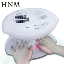 HNM Smart Nail Polish Dryer Nail Air Dryer Fan Auto Induction Warm & Cool Wind Auto Sensors Nail Art Manicure Tool
