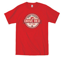 T Shirts Casual Brand Clothing Cotton Work Smart Drive Red Ih International Harvester Tractor Mens T Shirt
