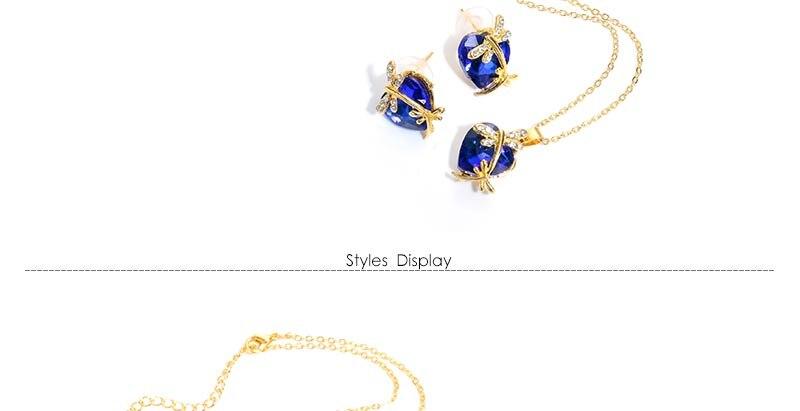 AYAYOO Jewelry Sets Women Gold Color African Beads Jewelry Set Dubai Bridal Luxury Wedding Fashion Necklace Jewellery (3)