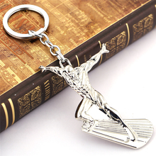 J Store Character Fantastic Four Silver Surfer Alloy Keychain Key Ring Holder For Fans Movie for Fashion Accessories Llavero