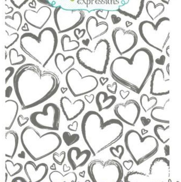 Love Mail Envelope Background Stamp Rubber Clear Stamp//Seal Scrapbook//Photo Album Decorative Card Making Clear Stamps