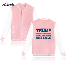 Buy Aikooki Donald Trump Fashion Jacket Women Men USA Presidential Make America Great Clothes Male Female Jackets Clothes xxxl for $15.89 in AliExpress store