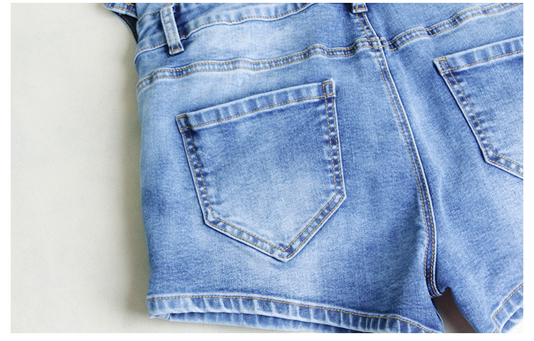 Single Breasted Women Playsuit Romper Sexy Skinny Bodysuit Denim Jumpsuits Summer Sleeveless Fashion Ladies Jeans Body Feminino (12)
