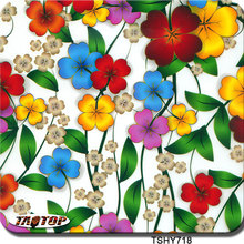 TAOTOP TSHY718H 0.5m*2m pva colorful flower hydrographic film pattern hydro dipping films water transfer film