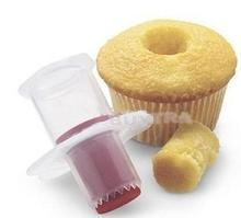 New Eco-Friendly Cake Tools Cupcake Plunger Cutter Creative DIY Cake Corer Decorating Divider