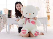 Free shipping 60cm heart to heart teddy bear plush toy gift for lover's teddy bear gift factory supply