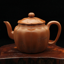One Piece Teapot Kung Fu Chinese Style Tea Pot Yixing High-end Gift Purple Clay Tea Set Teaware(China)