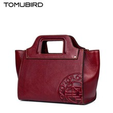 TOMUBIRD 2016 New women genuine leather bag fashion chinese style retro leather art bag women leather handbags shoulder bag