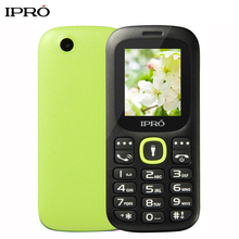 Russian Language Original IPRO I3185 1.8 Inch Push-Button Mobile Phone China GSM Dual SIM Card Standby Handphone Seniors Kids(China)