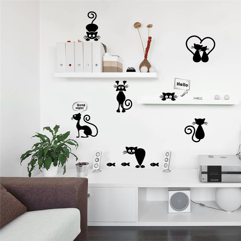 Lovely Cat Light Switch Phone Wall Stickers For Kids Rooms Lovely Cat Light Switch Phone Wall Stickers For Kids Rooms HTB1zfQOhJzJ8KJjSspkq6zF7VXaH