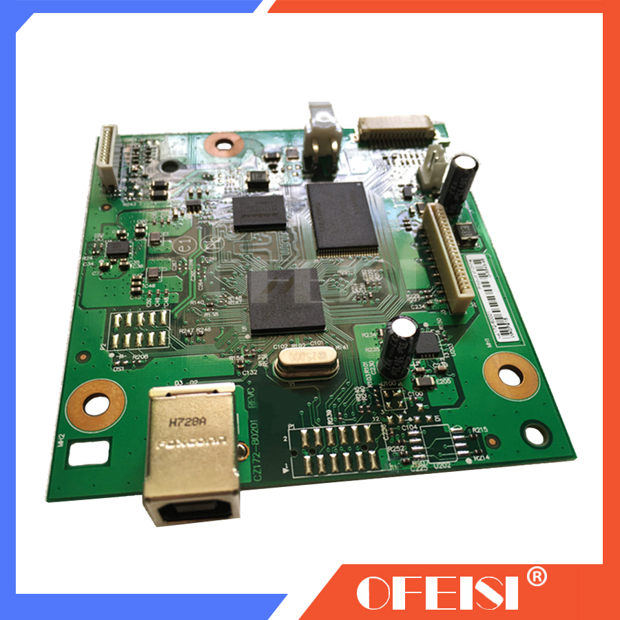 Original LaserJet CZ172-60001 Formatter Board For HP LaserJet Pro M125A M125 126 125 M126a M126 Mainboard On Sale