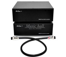 Music hall MM / MC Phono Stage amplifier MOSFET LP Vinyl record Turntable HiFi Split Power preamp amp Phono Stereo