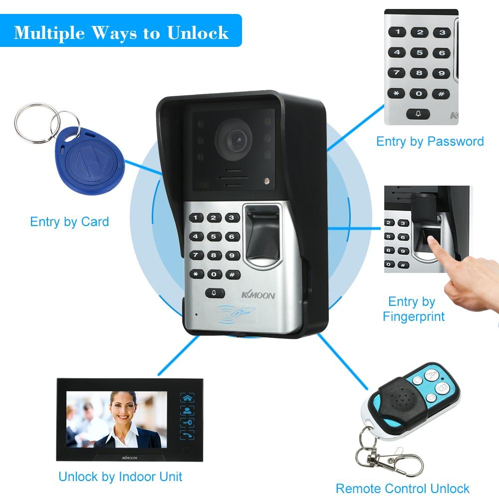 Passwort Entsperren Hand-free Audio Tür Telefon Xinsilu Home Security Nicht-visuelle Gebäude Intercom System Für 8-wohnungen