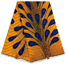 African Wax Fabrics High Quality Factory Price African Wax Cloth The New Listing african fabric ankara Super Wax 100% Cotton