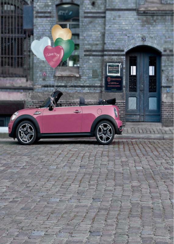 wedding background street car stor photo props studio retro backdrops vinyl 5x7ft or 3x5ft brick floor<br><br>Aliexpress