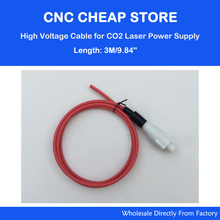 DIY Laser Engraver Cutter Power Supply PSU Cable Wiring 3M meter 40W 50W 60W 80W 100W 130W CO2 Tube(China)