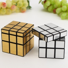 Funny 3x3x3 Mirror Magic Speed Cube Ultra-smooth Professional Puzzle Twist Toy Gift Magic Cube Brain Teaser IQ Test Toys