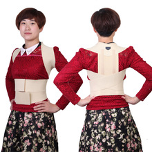 Women Posture Correction Braces Waist Adjust Shoulder Chest Back Support Brace Belt Corrector Straightener Strap Health Care(China)