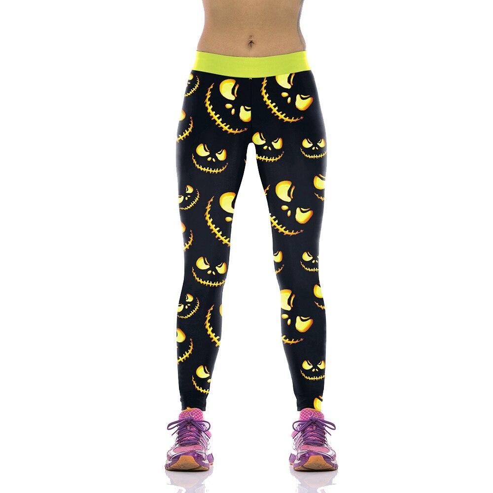 NADANBAO Halloween Print Fitness Leggins 24