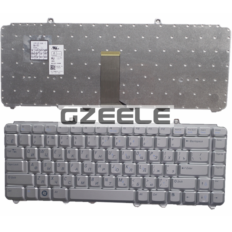 Russian  Keyboard for Dell inspiron 1400 1520 1521 1525 1526 1540 1545 1420 1500 XPS M1330 M1530 NK750 PP29L M1550 SILVER  Ru<br><br>Aliexpress