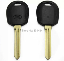 20pcs/lot transponder key blank with Right Blade for kia