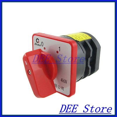 AC 380V 20A on/off 2 Position Rotary Cam Universal Changeover Switch Yargh<br><br>Aliexpress