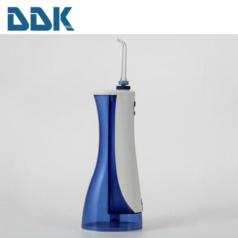 Portable Best Dental Water Flosser Reviews 2016 dental floss type oral irrigator water flosser with 220 ml water tank<br>
