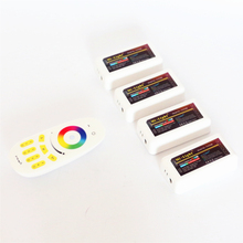 Mi Light 12V 24V 2.4G RF Wireless RGB RGBW LED Controller / Touch Screen RF Remote Controller For 5050 3528 RGB RGBW LED Strip
