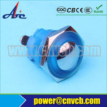 1603 IP65 IP67 16mm Domed head momentary screw terminal plastic waterproof switch