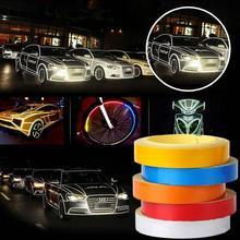 2cmx5M Reflective Body Stripe Sticker Adhesive Tape DIY Decal Safe Reflective Stripe(China)