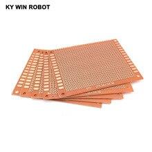 5PCS / LOT DIY paper prototype printed circuit board universal testing matrix circuit board 7 * 9 cm