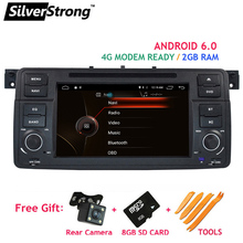 SilverStrong 2GB RAM Android6.0 Car DVD for BMW E46 M3 Rover Car GPS Radio with 4G LTE Modem ready