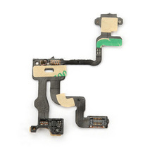 New Proximity Light Sensor Power Switch on off Button Flex Cable for iPhone 4S DY-fly