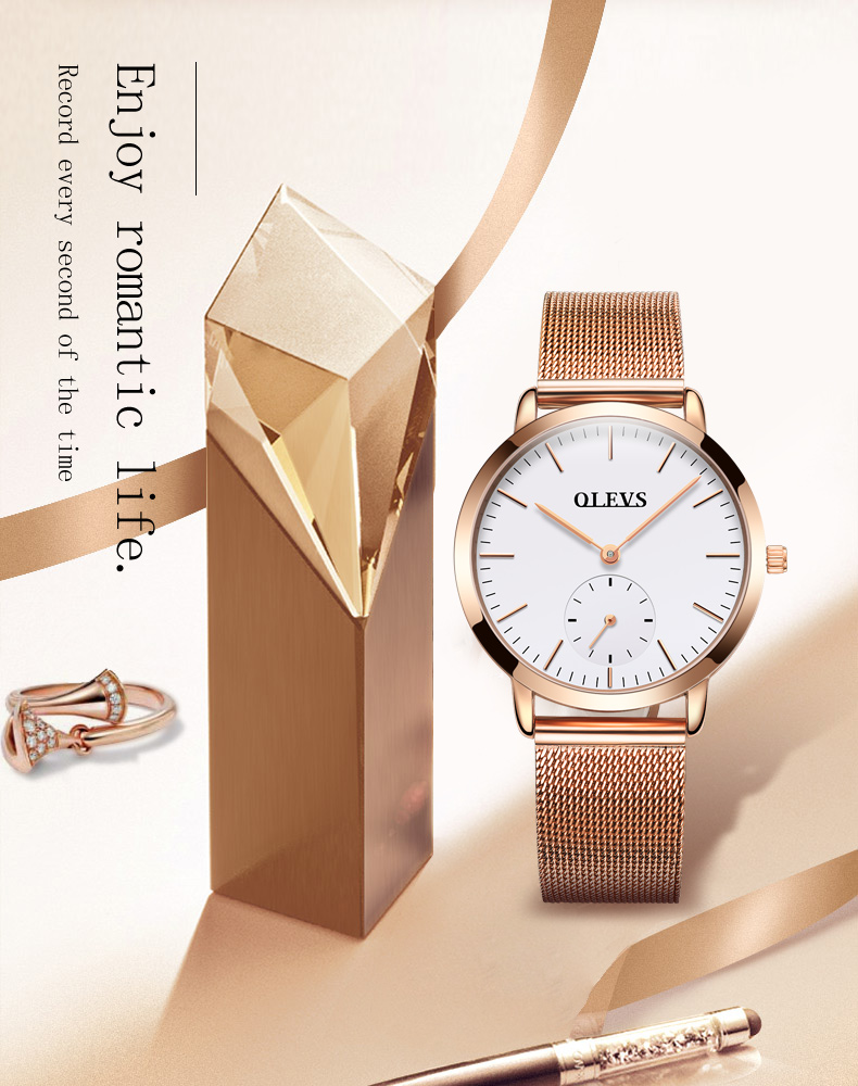 HTB1zgGnSpXXXXaWXVXXq6xXFXXXB - OLEVS Luxury Watches Women's Rose Gold Casual Quartz Watch Stainless Steel Watch Water Resistant Clock relojes hombre 2017 saat