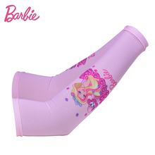 Barbie  Barbie Kids Ice Sleeve Summer Cute Sun Sleeve Girl's Princess Arm Warm Sleeve Long Gloves with Cool Material