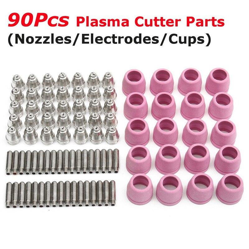 35pcs Nozzles + 35pcs Electrodes + 20pcs Cups Alloy Plasma Cutting Gun Accessories Durable Quality<br><br>Aliexpress