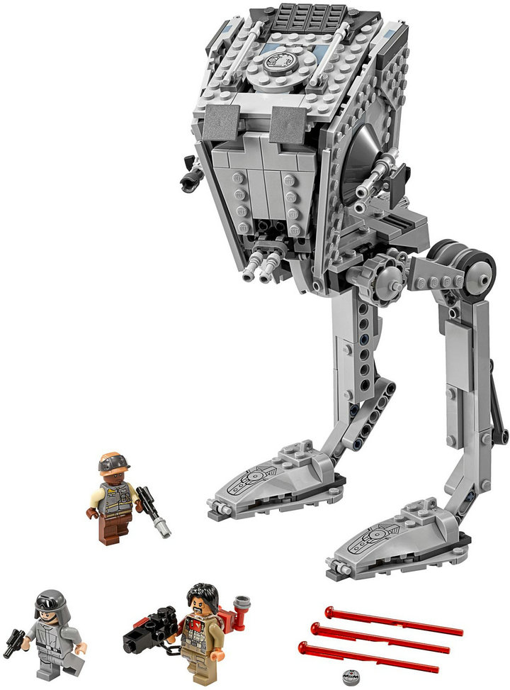 New Lepin 05066 Genuine Star War Series The Rogue One Imperial AT-ST Walker Set Building Blocks Bricks Toys 75153<br>