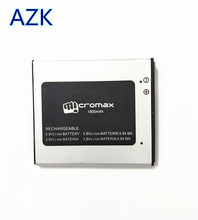 AZK 1PCS New 100% High Quality Micromax Q415 Battery for Micromax Q415 mobile phone +track code