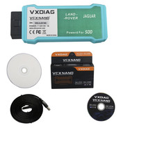 WIFI Version VXDIAG VCX NANO for Land Rover/Jaguar 2 in 1 Software V143 for Land Rover Diagnostic Tool(China)